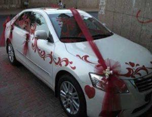 جدیدترین مدل های تزئین ماشین عروس