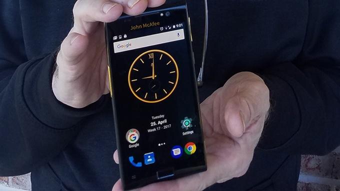 اولین گوشی موبایل که هرگز هک نمی شود