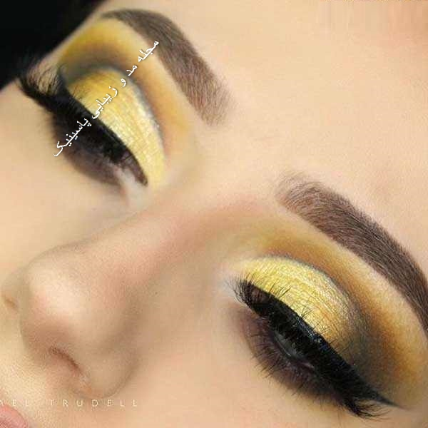 مدل های جدید آرایش چشم عروس