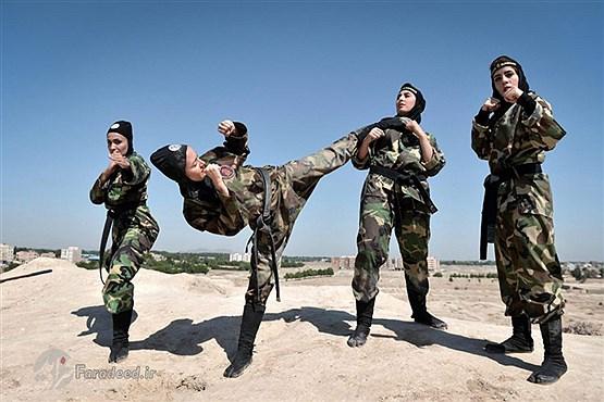 زنان نینجا کار ایرانی