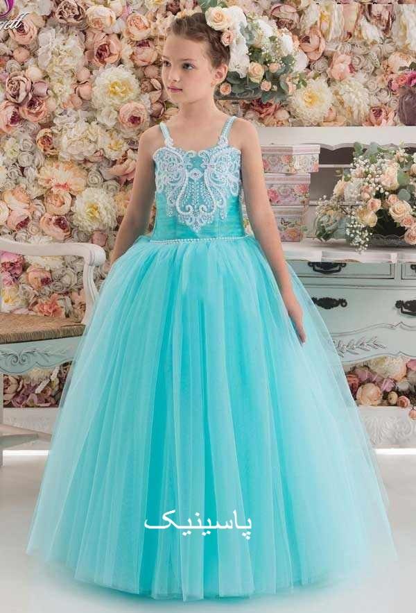 لباس مجلسی بچگانه دخترانه شیک