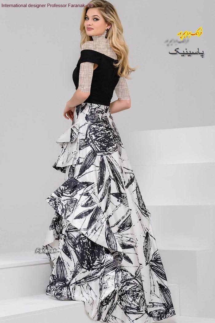 جدیدترین مدل لباس شب زنانه بلند