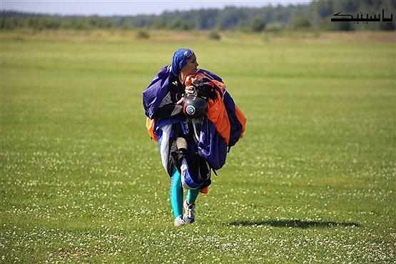 شاهکار فاطمه اکرمی دختر پرنده ایرانی در روسیه