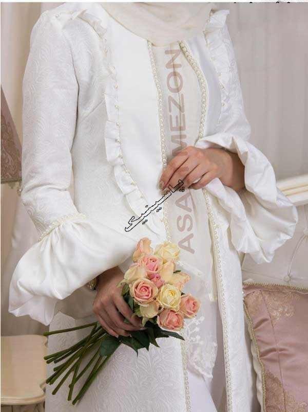 مدل مانتو نامزدی و عروس 2017