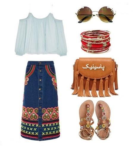 ست لباس تابستانه زنانه 96