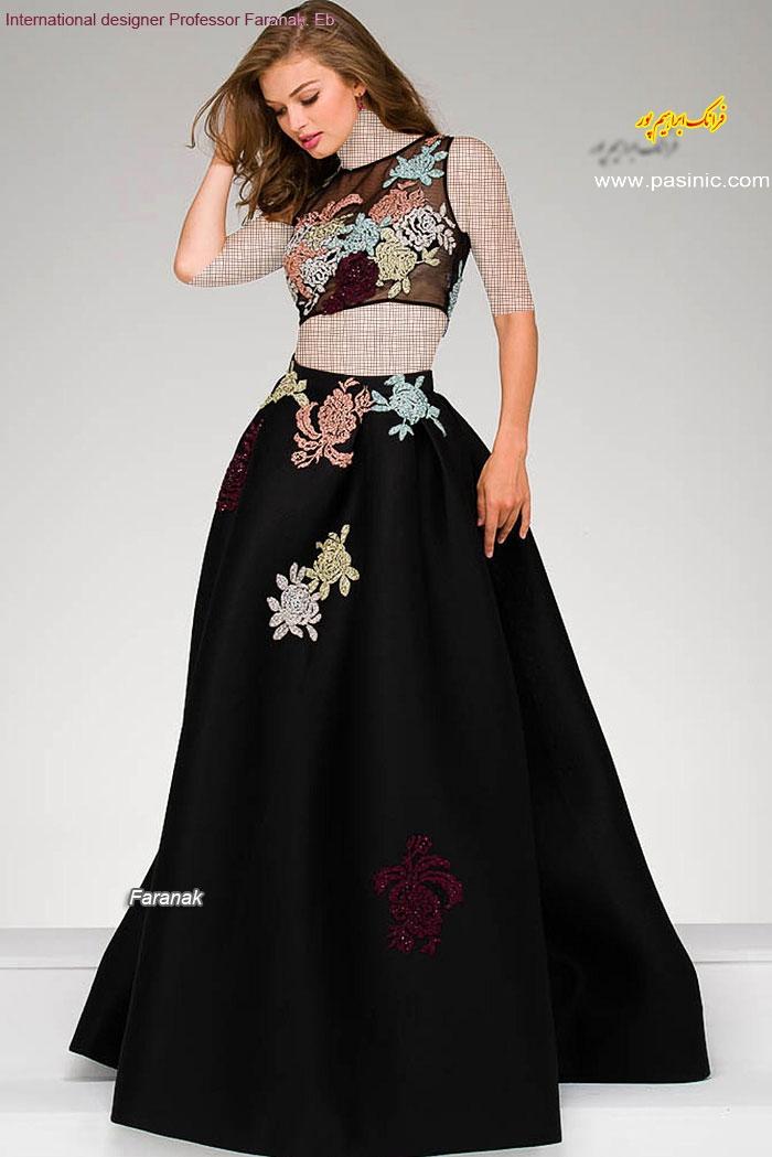 گالریمدل های لباس مجلسی زنانه و دخترانه طرح فرانک ابراهیم پور