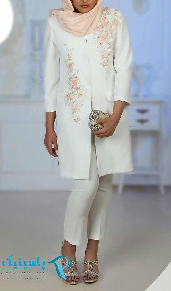 ژورنال شیک ترین مدل مانتو عروس جدید و مانتو نامزدی ۲۰۱۸