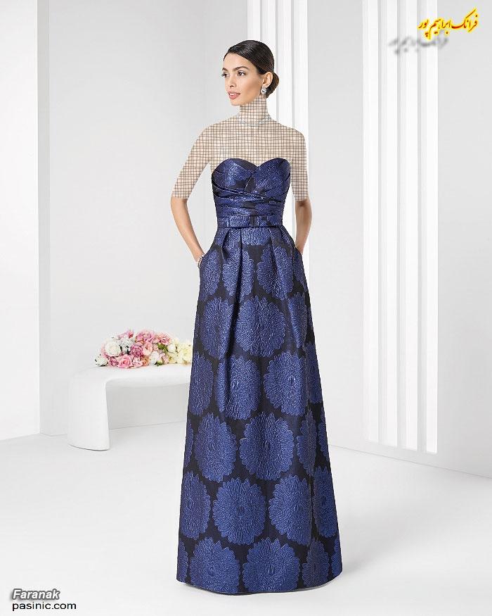 لباس مجلسی زنانه بلند جدید