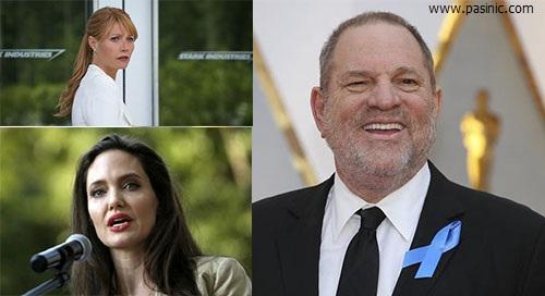آنجلینا جولی، قربانی آزار جنسی هاروی واینستین تهیه کننده هالیوود