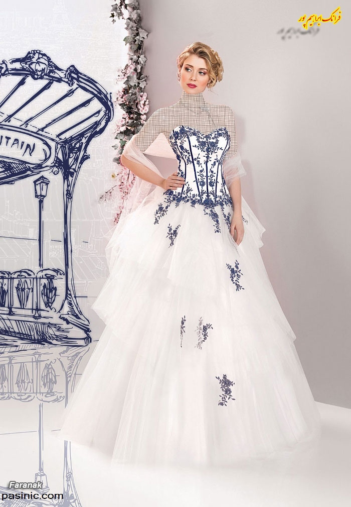 مدل های لباس عروس جدید زیبا و شیک