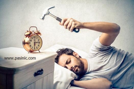 عوارض کم خوابی و تاثیر آن برافزایش وزن بدن