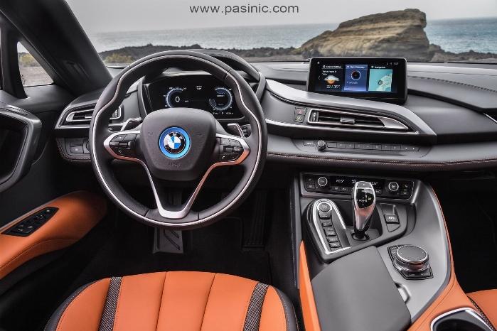 بامو i8 جدیدترین خودروی الکتروهیبریدی بامو در نمایشگاه خودرویی لسآنجلس