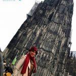 عکس جدید لیلا بلوکات در خارج از کشور