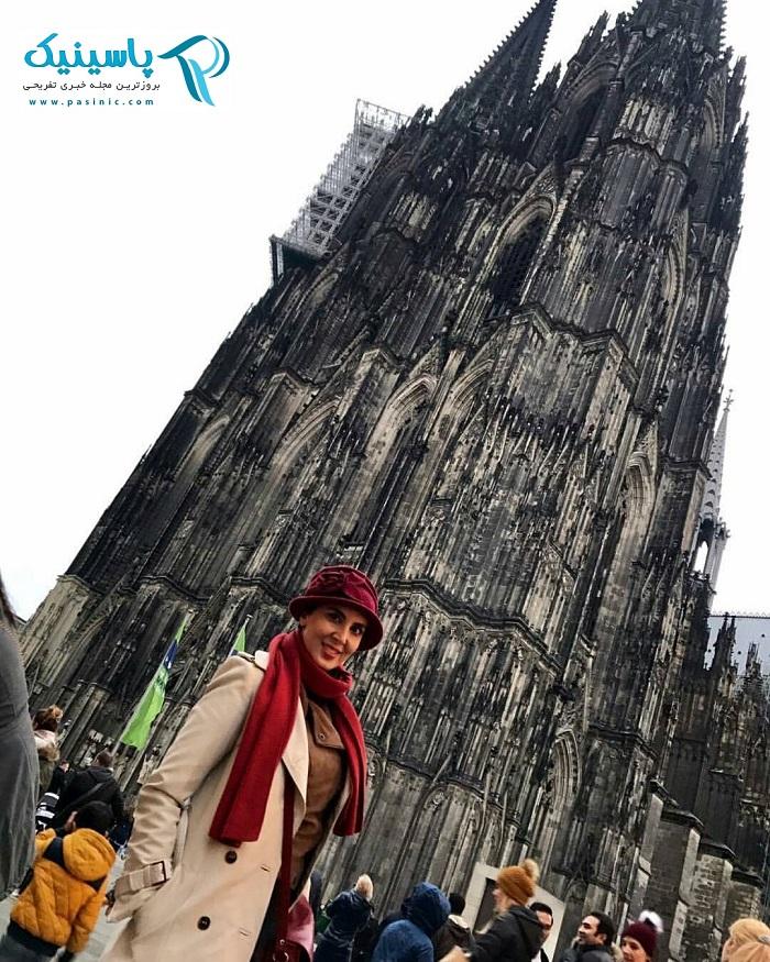 عکس جدید لیلا بلوکات در آلمان