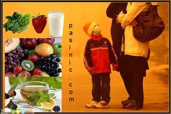 """خوراکیهایی که بیشتر از """"شیر"""" اثرات آلودگی هوا را مهار میکنند!"""