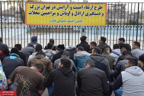 مبارزه با اراذل و اوباش و دستگیری 216 نفر به روایت تصویر