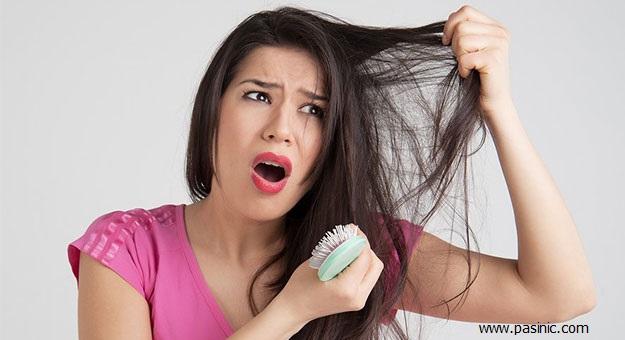 ریزش مو در زنان را چگونه درمان کنیم؟