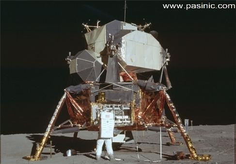 تصاویرماموریت آپولو 11 که توسط ناسا 44 سال مخفی شده بودند