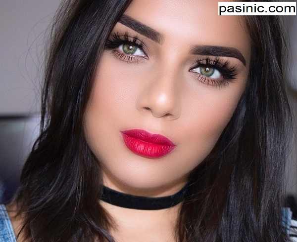 جدیدترین مدل های آرایش صورت April Salcedo