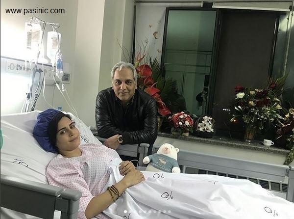 عکس هنرمندان ایرانی که به عیادت الناز شاکردوست رفتند