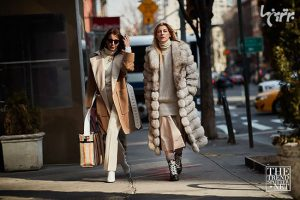 ست های خیابانی زنانه در هفته مد نیویورکست های خیابانی زنانه در هفته مد نیویورک