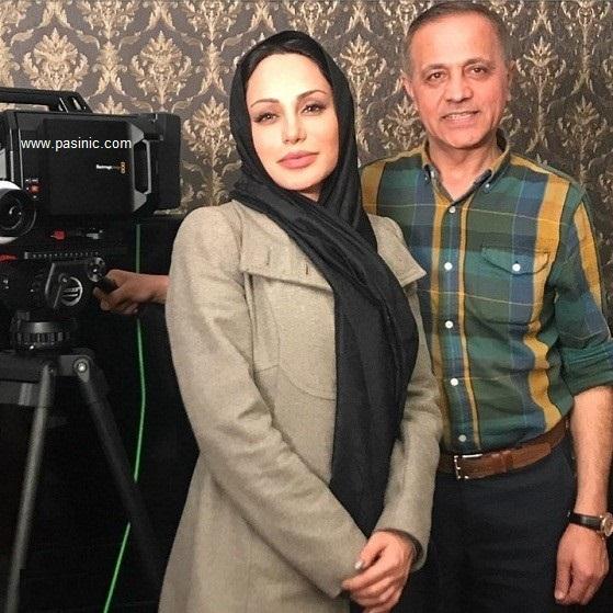 شباهت رامانا سیاح بازیگر ایرانی به آنجلینا جولی