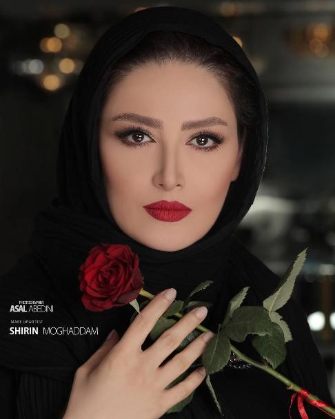 عکس جدید شیلا خداداد به عنوان مدل آرایشی!