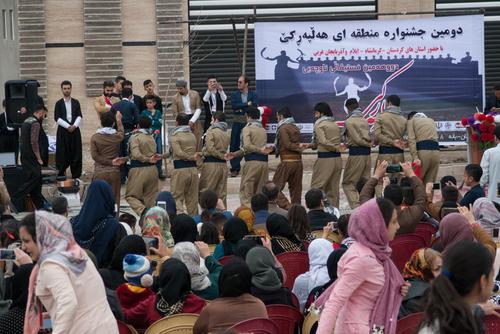 دومین دوره جشنواره رقص کُردی بانه به روایت تصویر