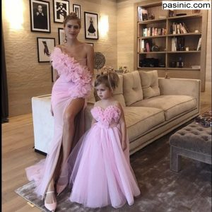مدل ست لباس مجلسی مادرو دختر بچه