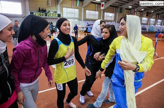 سپیده توکلی بانوی طلایی دوومیدانی ایران ذرمسابقات پنجگانه طلا گرفت