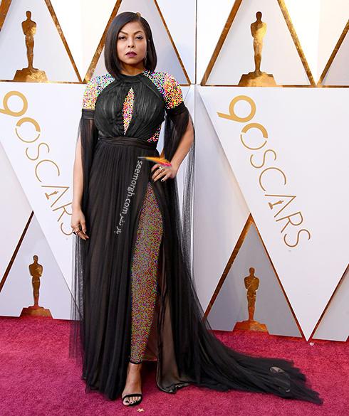 بهترین مدل لباس شرکت کنندگان در مراسم جوایز اسکار 2018