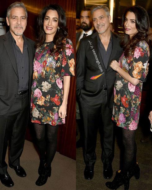 مدل های لباس بارداری خانم امل کلونی Amal Clooney