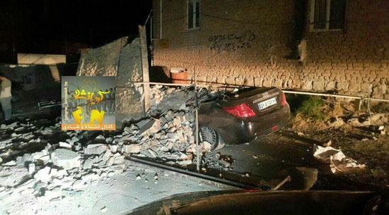 زلزله تازه آباد کرمانشاه