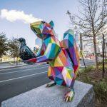 مجسمه های جالب و رنگارنگ در خیابان + تصاویر