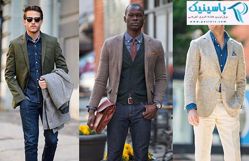 راهنمای ست کردن پیراهن جین مردانه