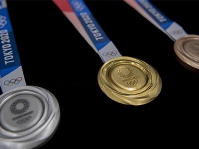 ساخت مدالهای المپیک
