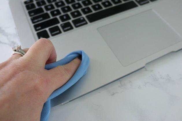 تمیز کردن لپ تاپ