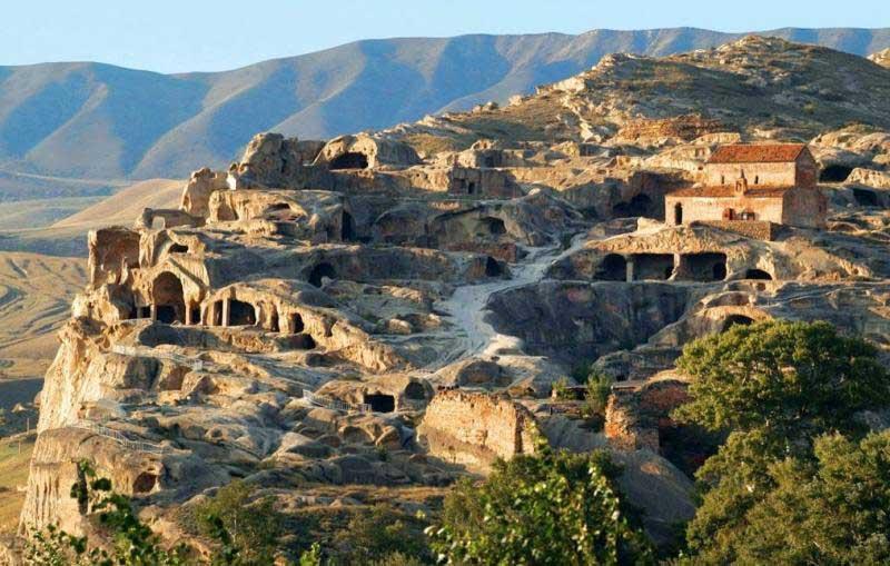 اوپلیستیخه گرجستان تنها شهر سنگی در جهان