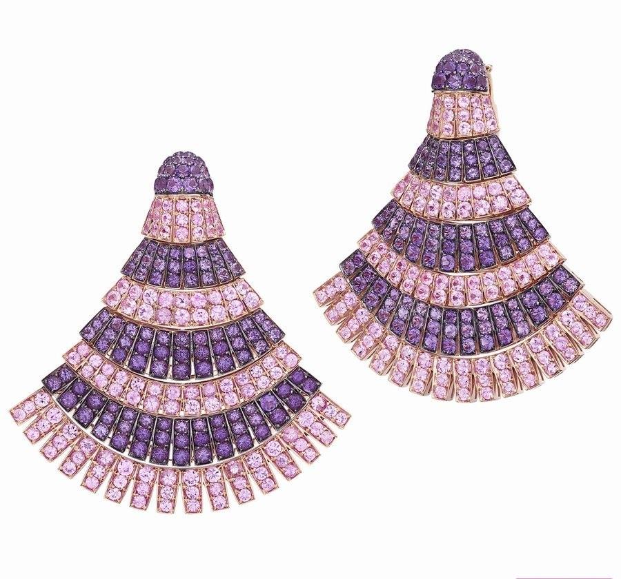 جواهرات مناسب برای موهای کوتاه با الهام از سلبریتیها