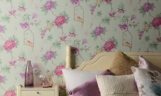 تمیز کردن کاغذ دیواری با چند روش ساده