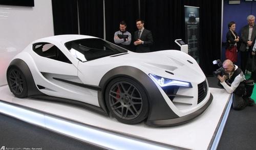 فلینو CB7R محصول جدید از یک تولید کننده خودروهای اسپرت